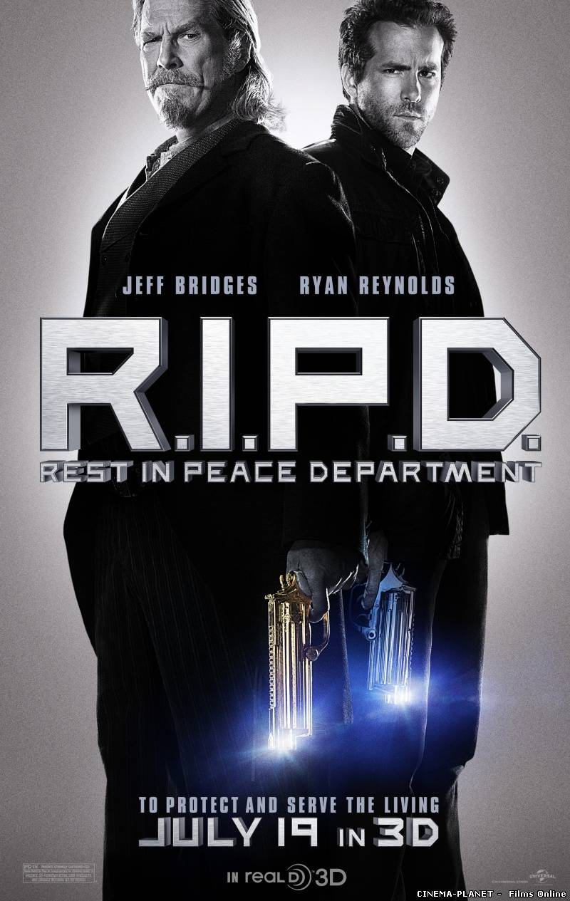 R.I.P.D. Примарний патруль / R.I.P.D. Rest in Peace Department (2013) українською. Трейлер